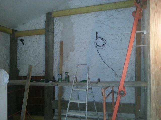 La construction de mon bloc dans le garage 602700799