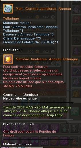 Gemme Jambière  602928GemmeJambireAnneauTellurique