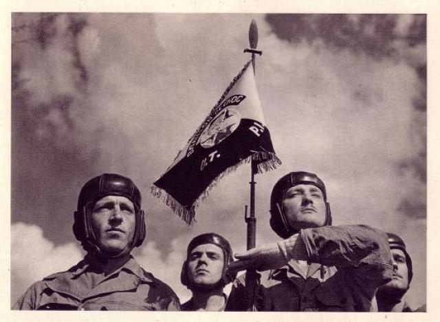Le Bataillon de Choc 1943/1963. Photos. 603514FanionUT