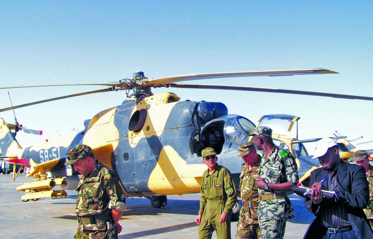 صور مروحيات Mi-24MKIII SuperHind الجزائرية 603954AAhfee