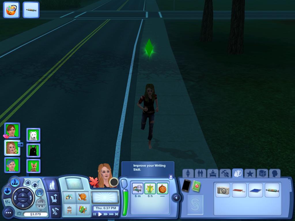 Les Sims ... Avec Kimy ! 604529Kimylezombiequicours