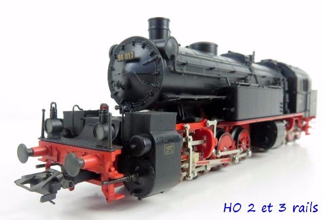 Les locomotives à vapeur articulées 604891Marklin3496DampflokBR96017MalletderDRGDeltaR