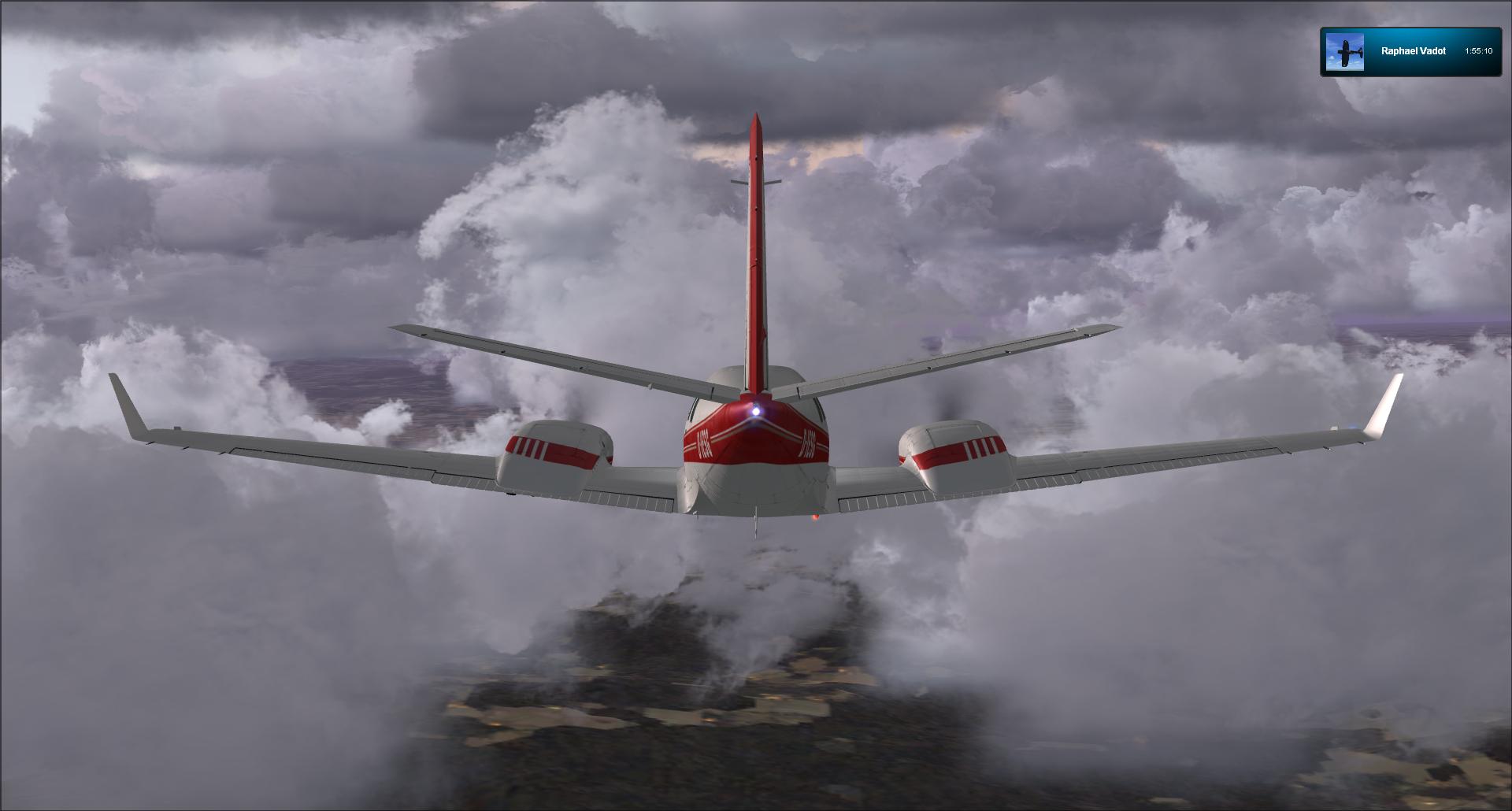 Vol VFR entre Bale et Clermont ferrand 60624520121125182232924