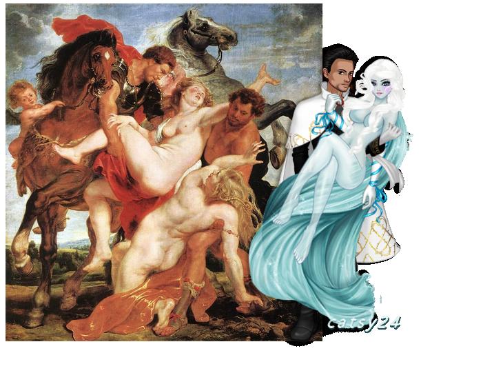 N°7 : L'Enlèvement des filles de Leucippe - Pierre Paul Rubens 607019tableau7080916