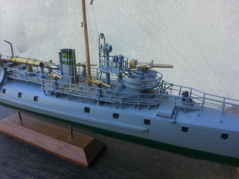 le contre torpilleur la Bombarde de 1903 et le torpilleur numéroté 340 de 1904 60720820160907135516