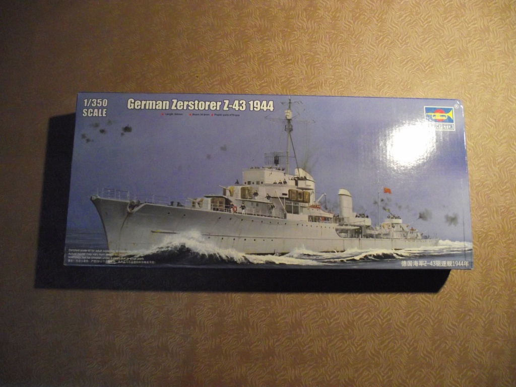 Destroyer Z43 Trumpeter au 1x350 607878DestroyerTrumpeter1x3501