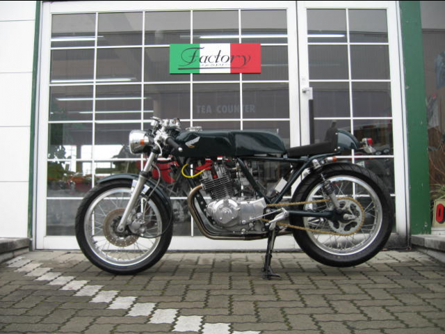 HONDA 250 XLS 1982 Cafe Racer - Page 2 608602481