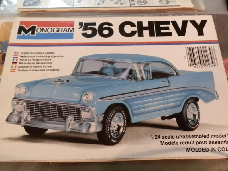 #47 : Chevy bel air 56 custom (TERMINEE) 608895P9305375