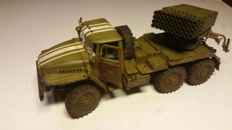 BM-21 GRAD 1/35 TRUMPETER 60947220161111210942