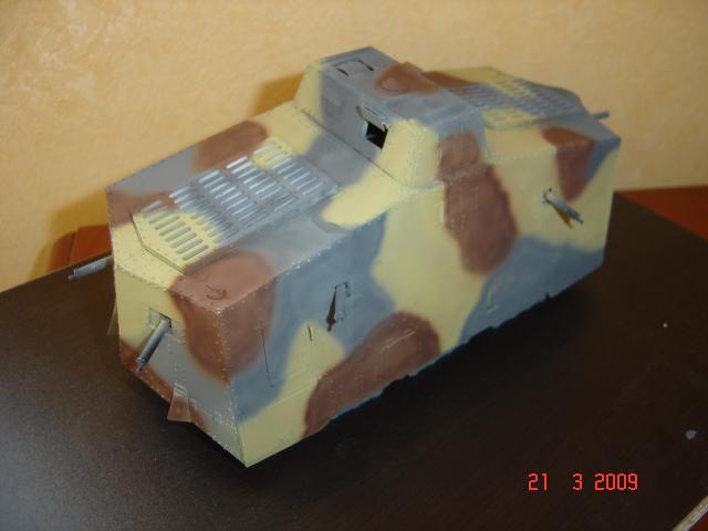 A7V [TAURO MODEL 1/35e] Le premier Panzer 610976A7V_peinture_et_vieillissement_003