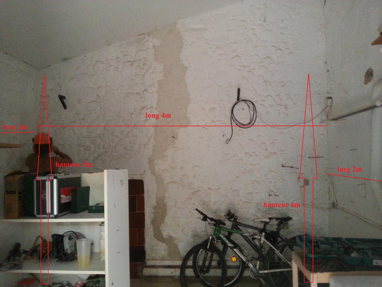 La construction de mon bloc dans le garage 611499dimmur