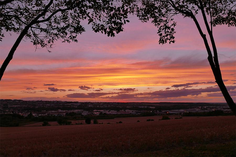 Coucher de soleil sur Auxerre 611839CoucherAuxerre