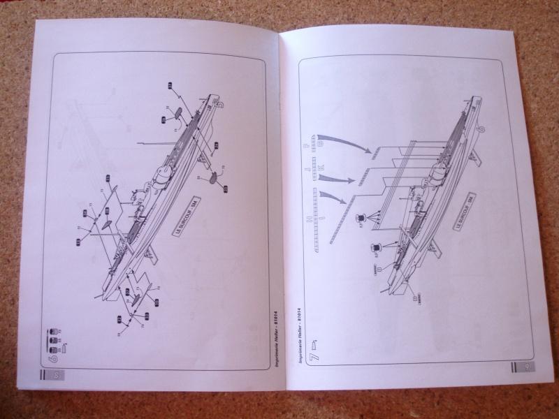 "Sous-marin Surcouf Ech 1/400 version ""upgrade"" 612405Photo055"