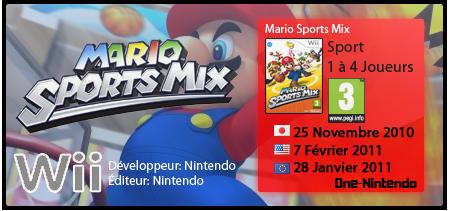 Mario Sports Mix | Wii 613072msm