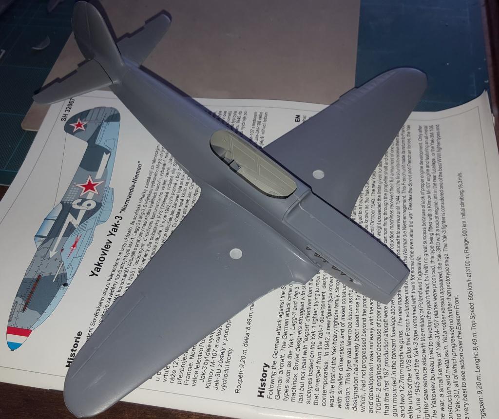 YAK 3 - Normandie Niemen 1/32 Special Hobby - Page 2 61503920161009093219