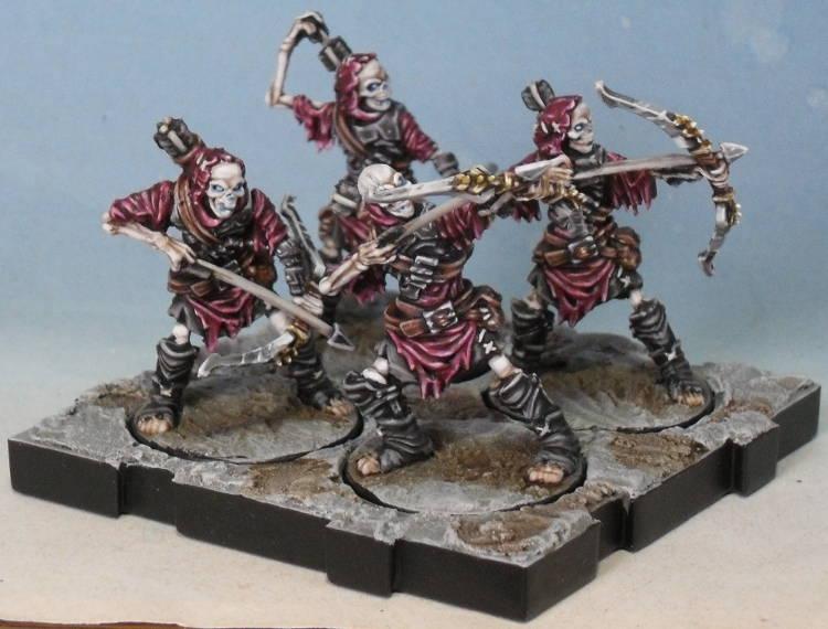 Peinture de mon armée de Mort-Vivants 615116Srie1socle01
