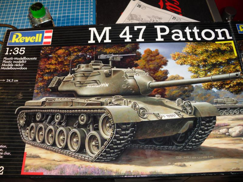 M47 Patton Revell 615134DSCI0014