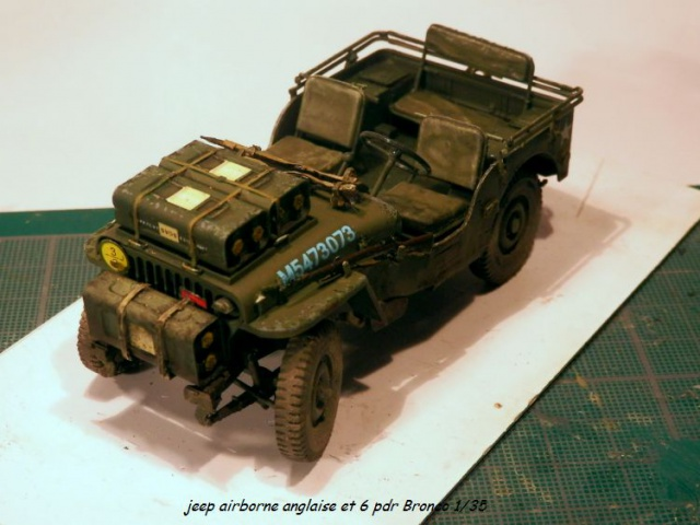 6 pdr ,jeep ,équipage airborne Bronco 1/35 (sur la route de Ouistreham) 615528P5060110