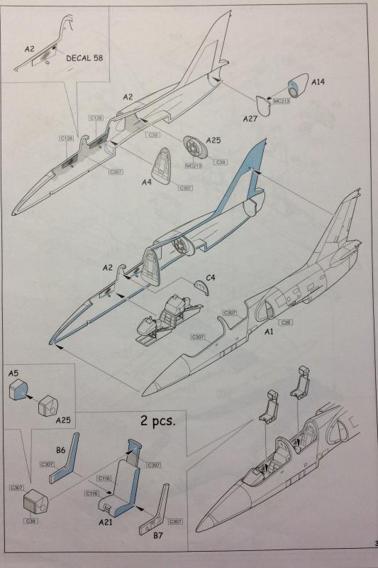 [EDUARD] L-39 ALBATROS Hungarian Sharks 1/72 618458L39HUNGARIANSHARKS28