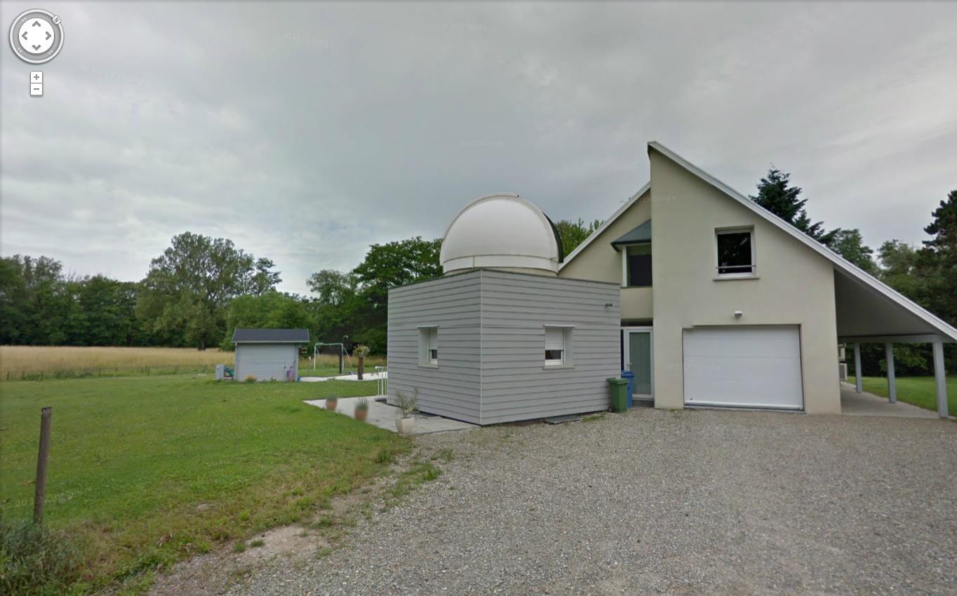 Observatoires astronomiques vus avec Google Earth - Page 21 619117observatoire1