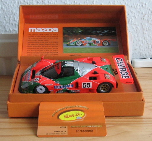 Mazda 787B The Le Mans Winners Colection 621346Mazda787bslotit003