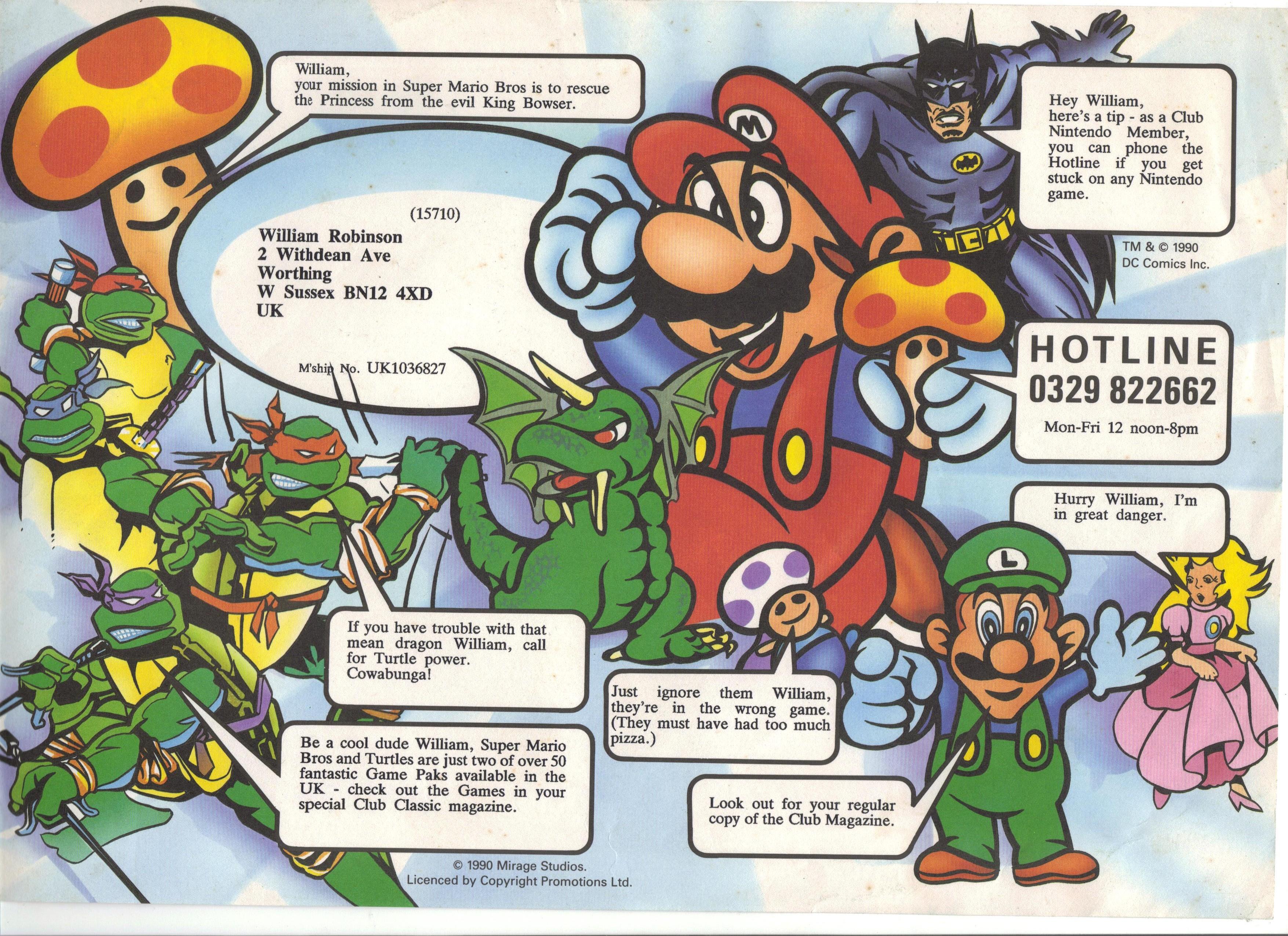 "Magazine ""Club Nintendo"" 621405FeuilletClubnintendo001"