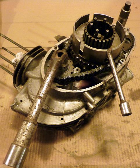 MZ 125 TS changement de roulements d'une MZ 125TS 622741P1030128