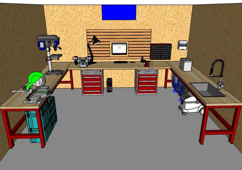 VOS ASTUCES - Optimisation de l'espace à l'atelier 622844Amnagementintrieur01