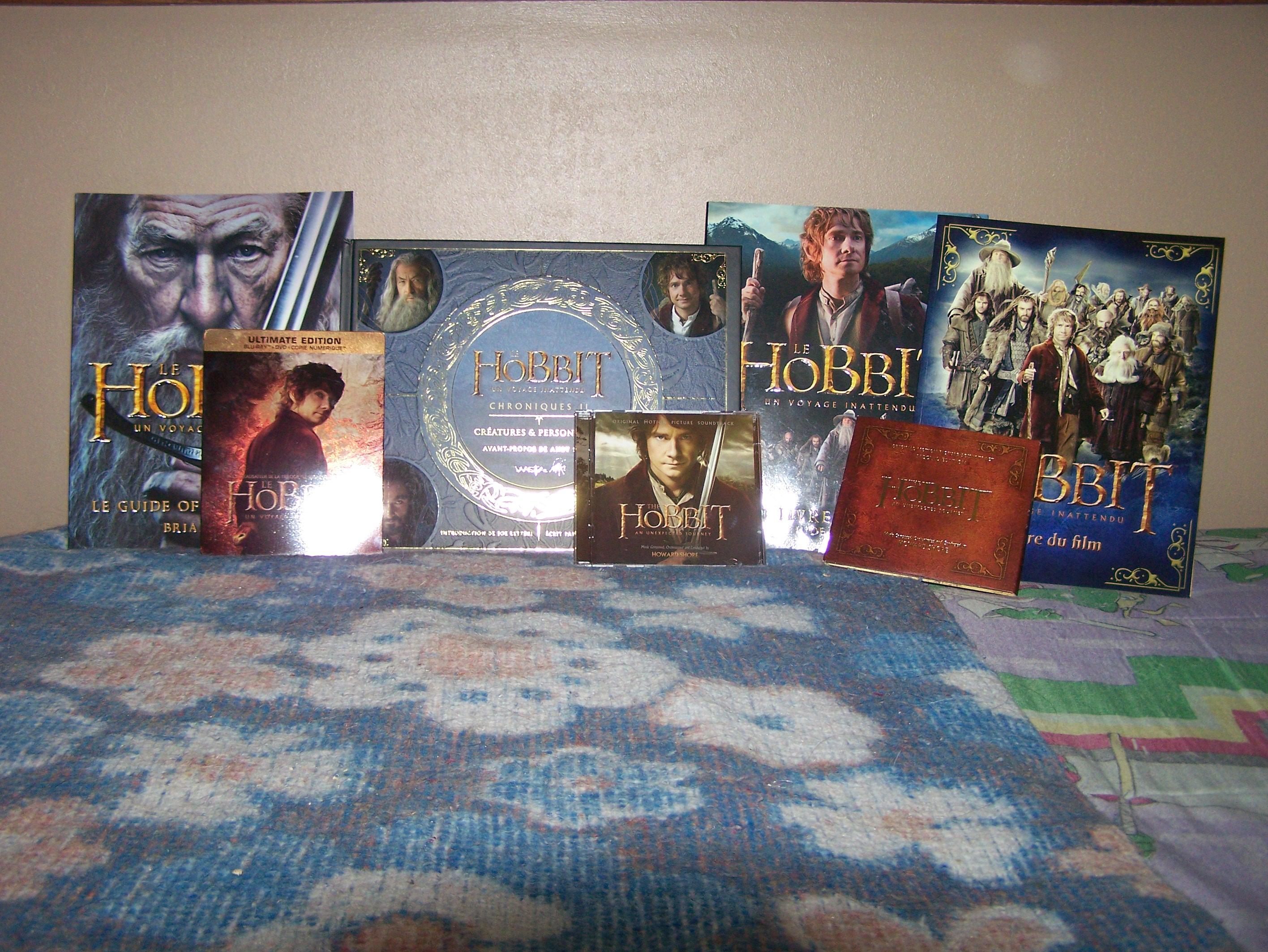 Le Seigneur des Anneaux / The Hobbit #3 622984MaCollectionSeigneurdesAnneauxTheHobbit12