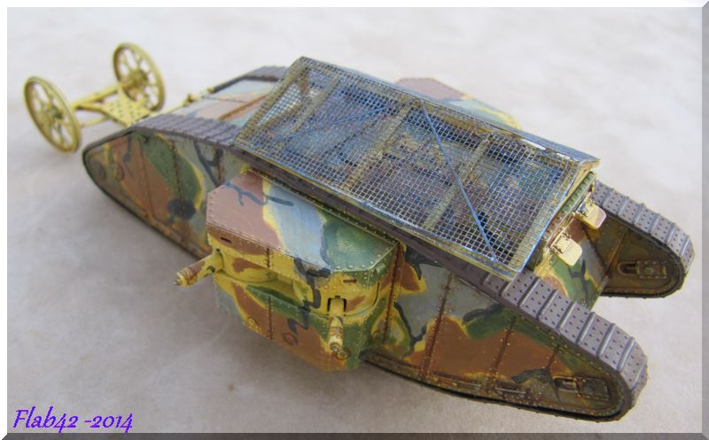 "MK I ""Female"" British tank - Bataille de la Somme 1916 - Master Box LTD - 1/72ème 623321fini6"