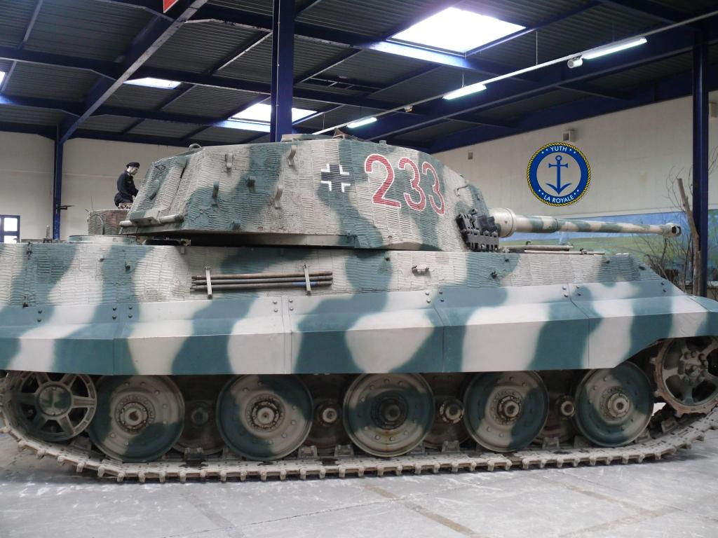 Sd.Kfz. 182 Panzer VI ausf B Tiger II Porsche Turret 627387tigre202