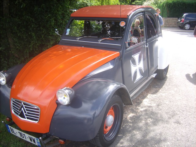 Viking Club 2CV 15éme Rencontre 2012 Domjean (Manche 50420) 627555Jun21644