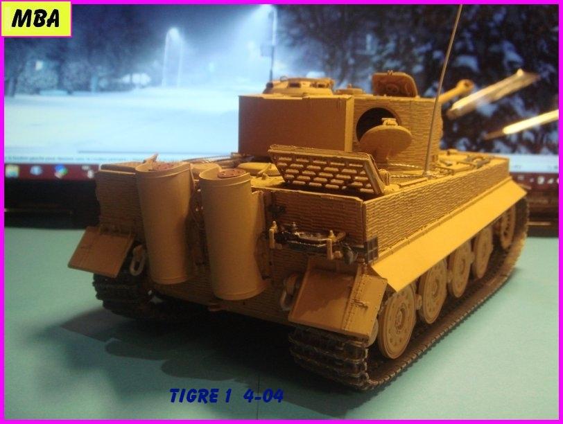 Char Tigre 1 au 1/35ème Dragon 627624Tigre404