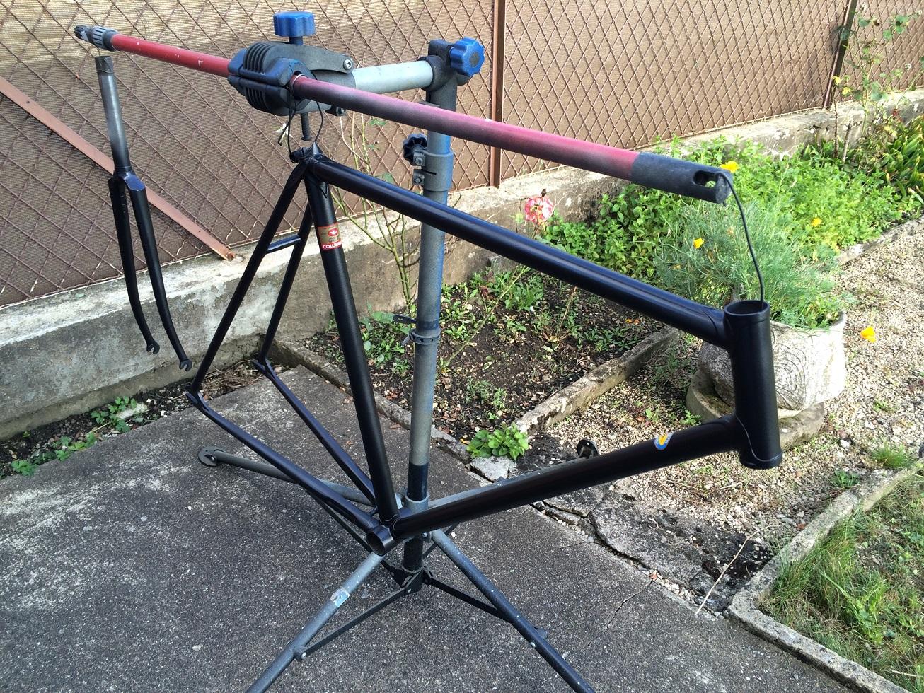 Vélo de piste Jean Marie Brun Tubes Columbus 629085IMG2438