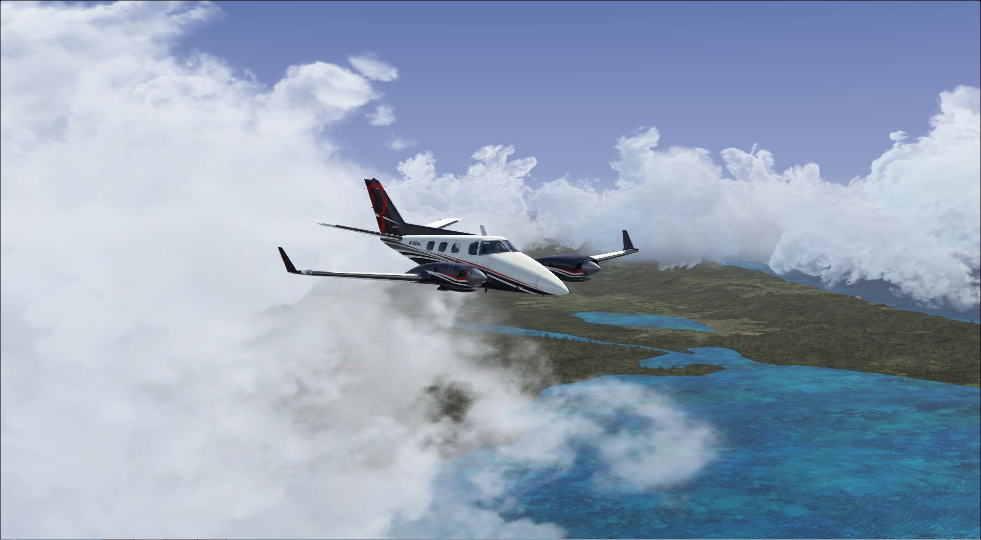 vol australie VFR Bundaberg à Brisbane Intls 6293692013121921481486