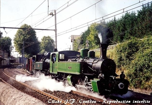 Les locomotives à vapeur articulées 634471Mallet403R