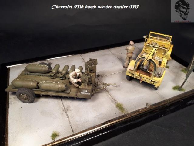 Chevrolet M6 bomb service et bomb trailer M5 1/35 63456120171025143729