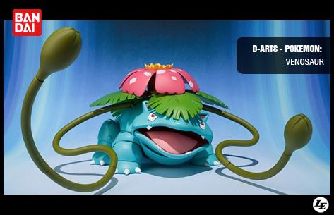 [Bandai] D-Arts - Pokemon: Venosaur 634637venosaur
