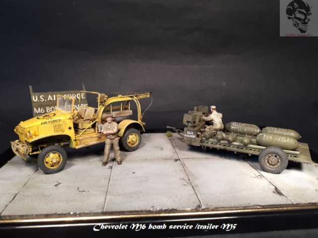 Chevrolet M6 bomb service et bomb trailer M5 1/35 63826520171025143624