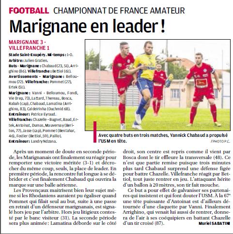 FCVB Football club Villefranche Beaujolais /CFA GROUPE C  638934456