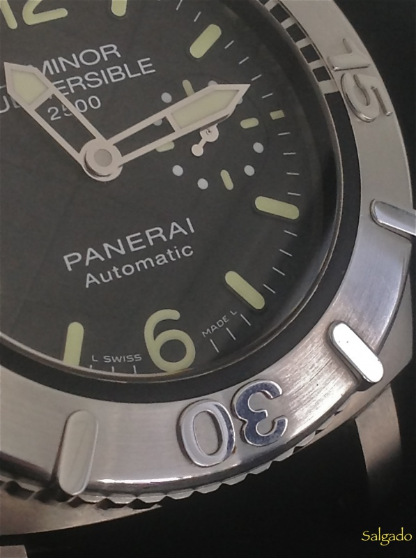 Revue Panerai Luminor 1950 Submersible 2500 Destro 358 SL 639781IMG1475