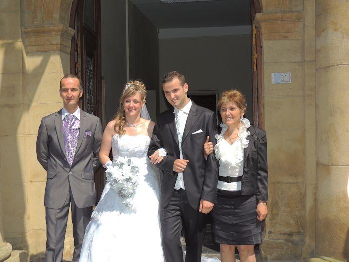 mariage de mon filleul benjamin avec cindy  6402592557