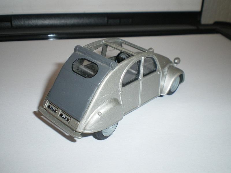 Citroën 2CV - 1957  - Dinky DY 32 - Matchbox Collection. 640699IMGP4675