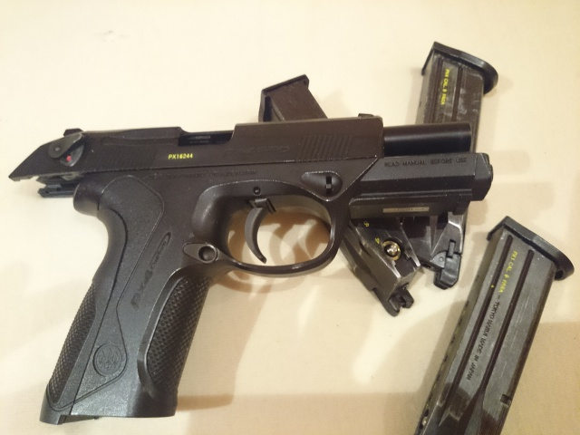 Px4 Tokyo Marui 3 Chargeurs, Holster, Joint Nineball Neuf 640787DSC0182