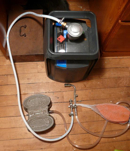 puis-je brancher un petit réservoir de propane à ma maison