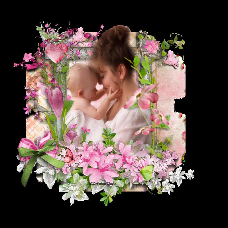 Scrap tendre Maman Cloclo 642025cloclo