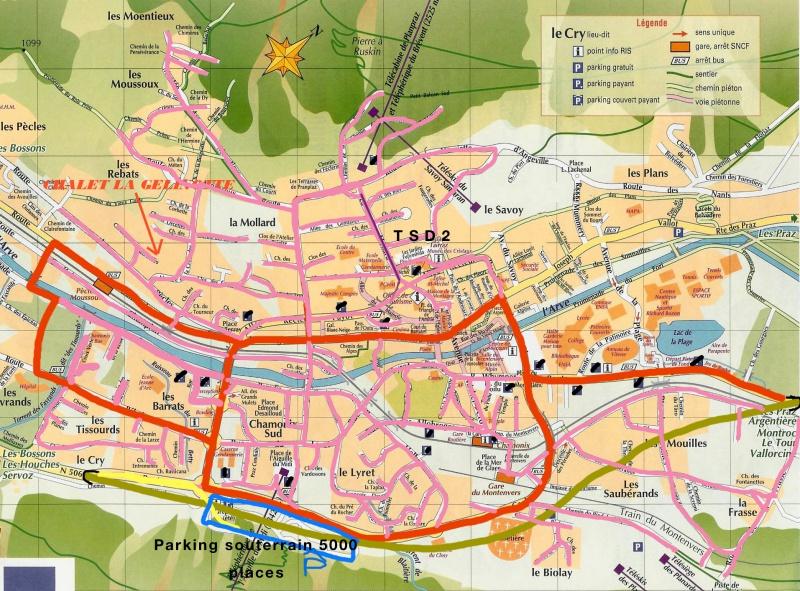 Plan urbain vallée de Chamonix 642418PlanurbainChamonix