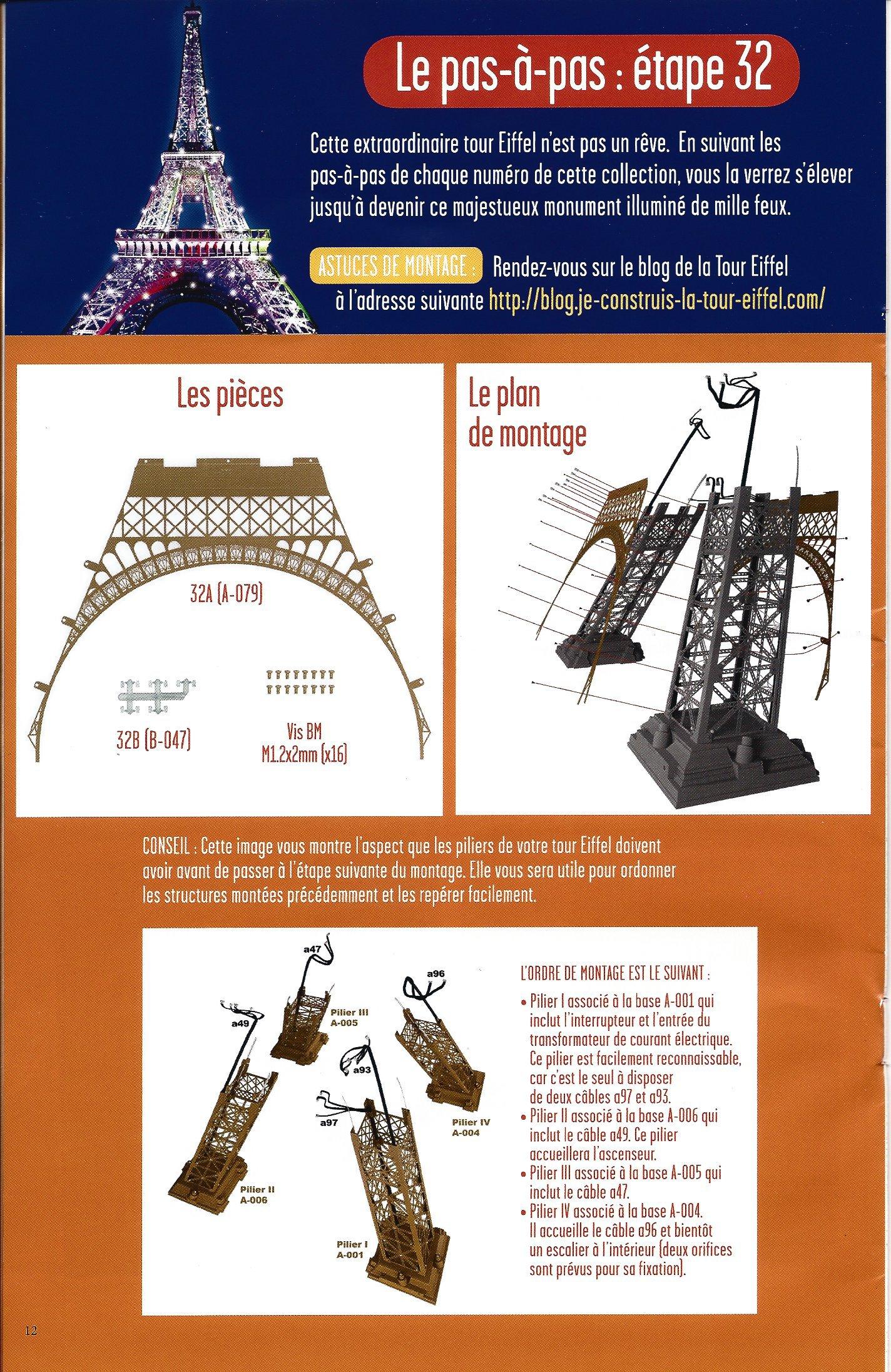 Numéro 32 - Je construis la Tour Eiffel - La fréquentation de la Tour (2/2) 64326732b