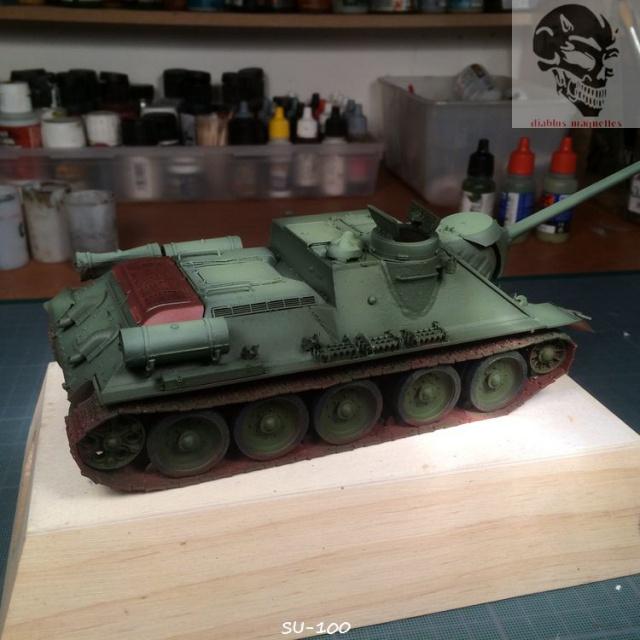 SU-100 marque Dragon 1/35 643952IMG3887