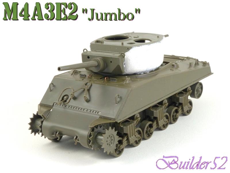 SHERMAN M4A3E2 JUMBO - TASCA 1/35 644730P1050216